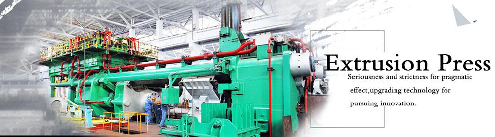 Aluminum Extrusion Press