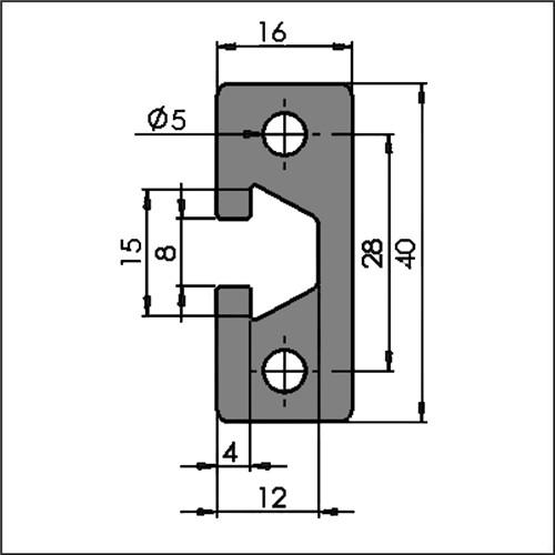 Aluminum-t-slot-8-1640-CAD
