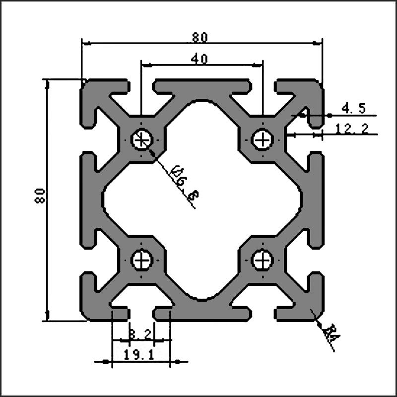 Aluminum-t-slot-8-8080W-CAD