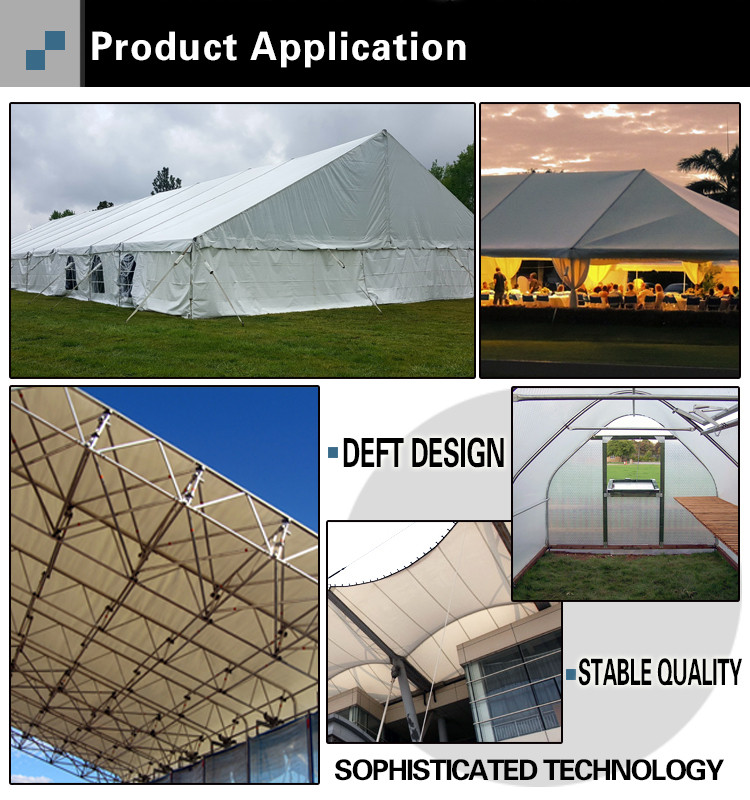 Aluminum Tent Frame Application